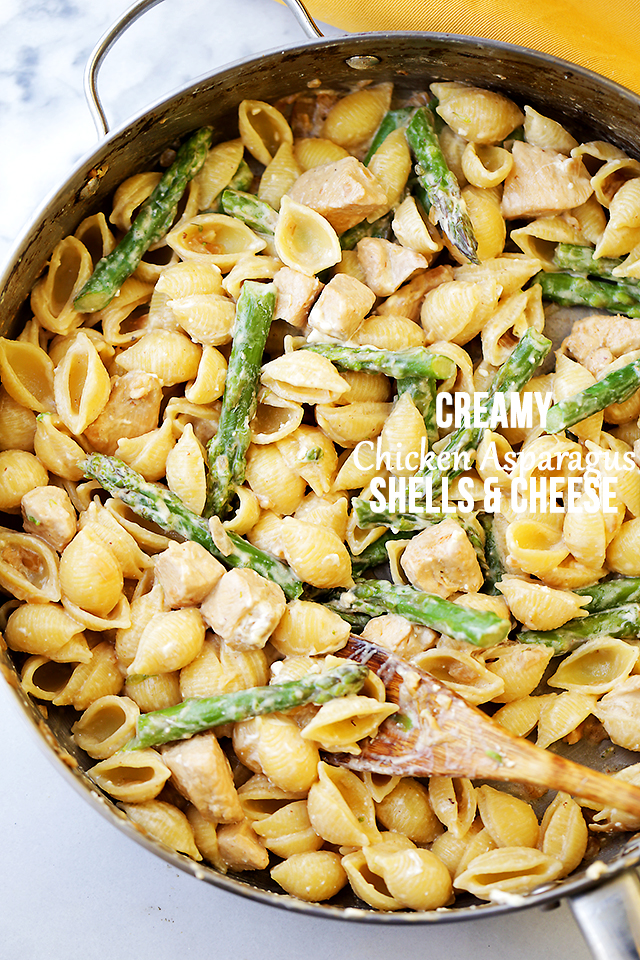 Chicken asparagus cheese recipe