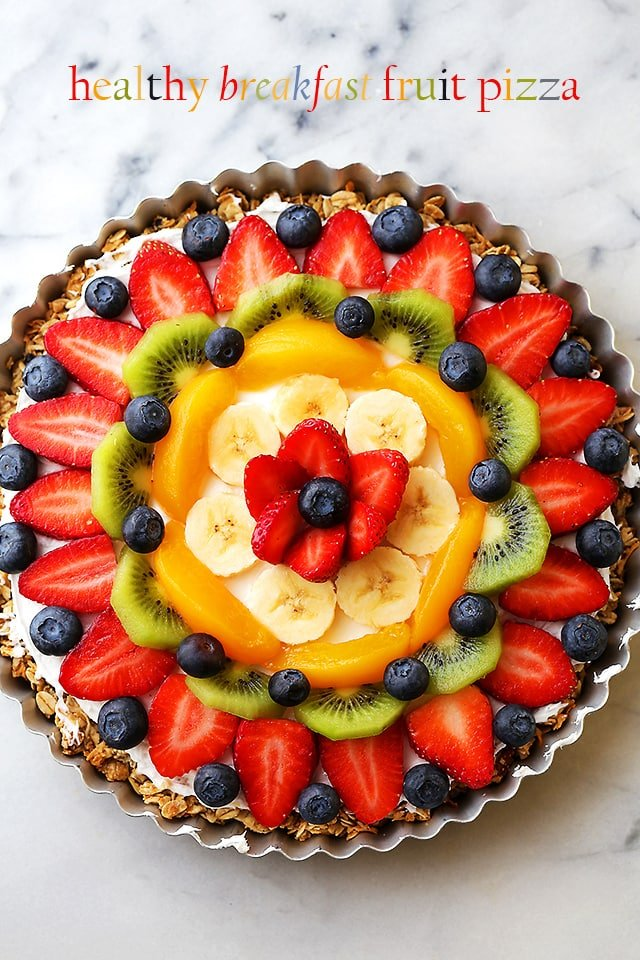 fruit pizza healthy fruit loaf recipe