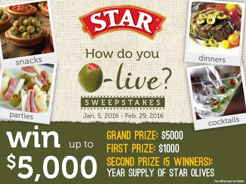 How Do You Olive Sweepstakes