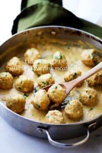 Lightened-Up Turkey Swedish Meatballs Recipe | Easy Appetizer Idea