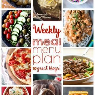 Weekly Meal Plan (Week 26)
