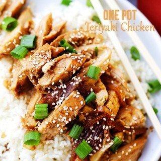 One Pot Easy Teriyaki Chicken Recipe