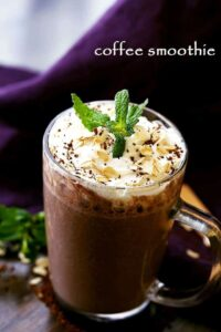 Coffee Smoothie Recipe | Easy and Healthy Coffee Smoothie
