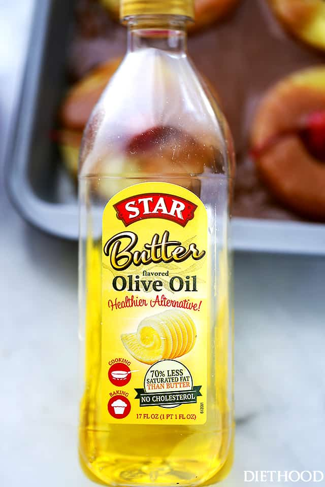 STAR Butter Olive Oil container