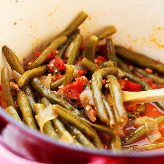 Green Beans and Tomatoes Recipe