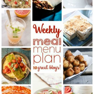 Weekly Meal Plan (Week 36)