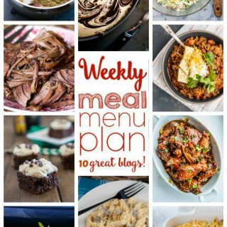 Weekly Meal Plan (Week 34)
