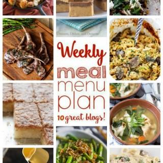 Weekly Meal Plan (Week 37)