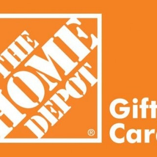 $100 Home Depot Gift Card Giveaway