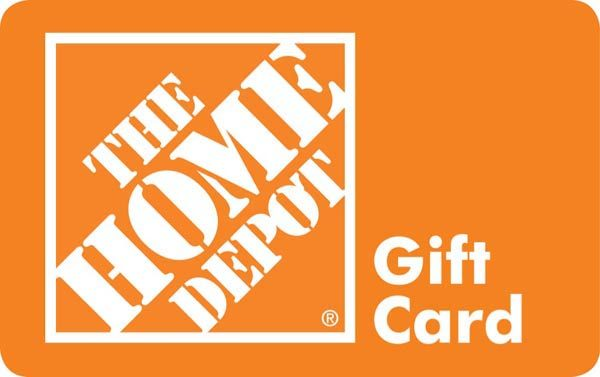 Win a $100 Home Depot Gift Card Giveaway!