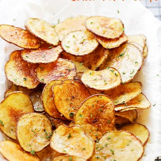 Chili Lime Baked Potato Chips Recipe