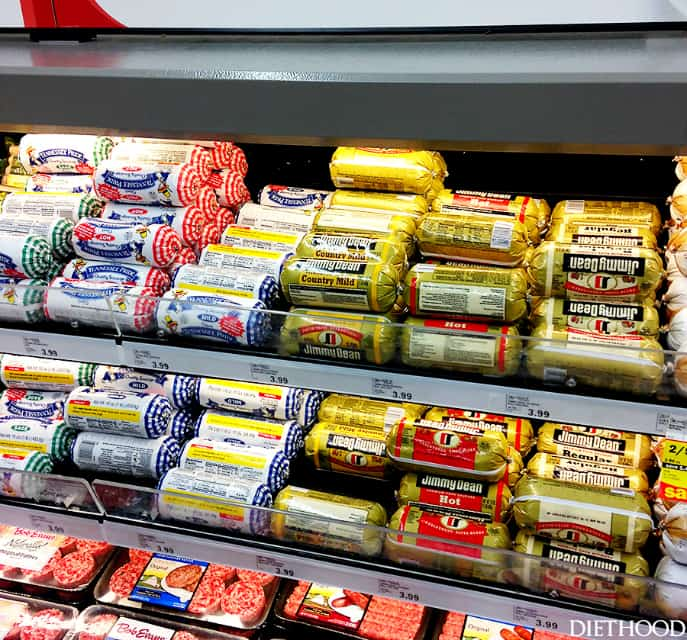 Jimmy Dean Sausage In Store Photo