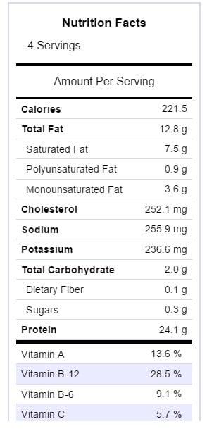 lemon-shrimp-nutritional-info