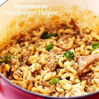 Lightened-Up Homemade Hamburger Helper Recipe