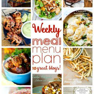 Weekly Meal Plan (Week 42)