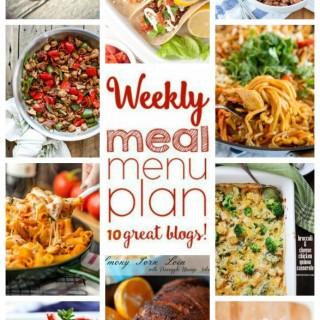 WEEKLY MEAL PLAN (WEEK 38)