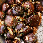 Roasted Italian Mushrooms Recipe