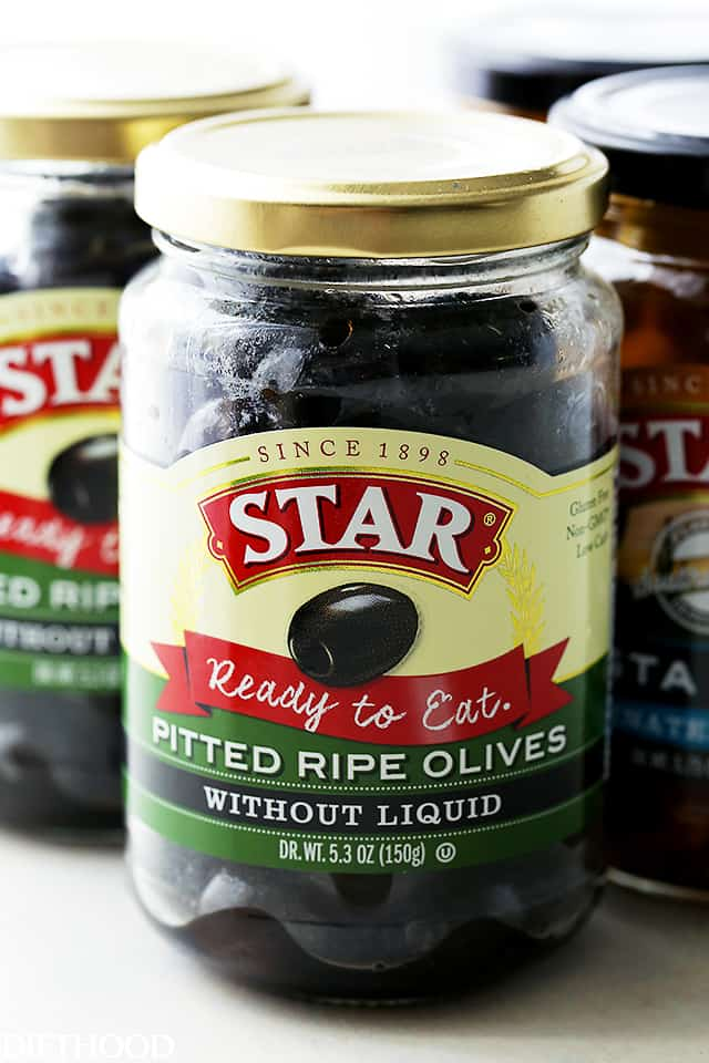 STAR Pitted Ripe Olives
