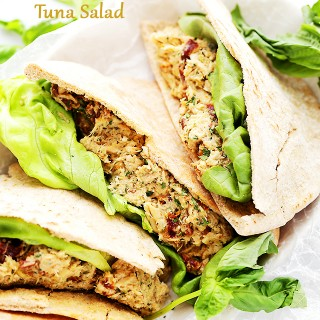 Sun Dried Tomatoes and Basil Pesto Tuna Salad Recipe
