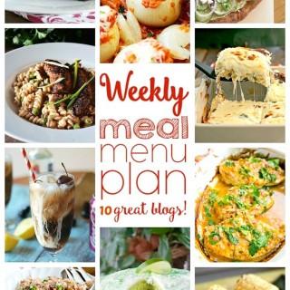 Weekly Meal Plan (Week 41)