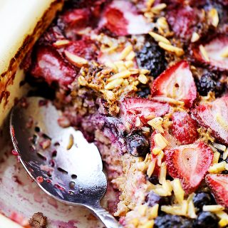 Very Berry Baked Oatmeal