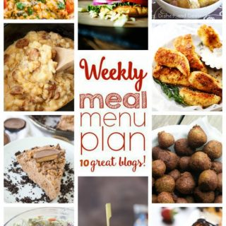Weekly Meal Plan (Week 45) - 10 great bloggers bringing you a full week of recipes including dinner, side dishes, and desserts!