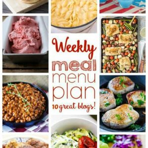 Weekly Meal Plan (Week 47) - 10 great bloggers bringing you a full week of recipes including dinner, sides dishes, and desserts!