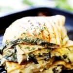 Easy Spinach and Artichoke Dip Quesadillas