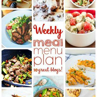 Weekly Meal Plan (Week 43)