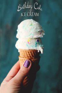 Picture of Birthday Cake Ice Cream