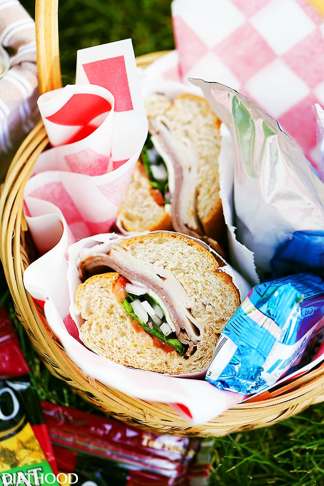 Picnic Sandwiches - Easy, customizable sandwiches perfect for your next summer get-together, party or picnic!