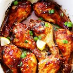 Crock Pot Citrus-Soy Chicken Drumsticks Recipe