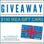 $150 IKEA Gift Card Giveaway