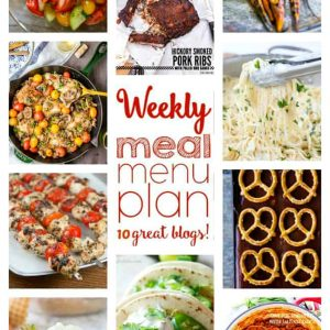 meal menu plan