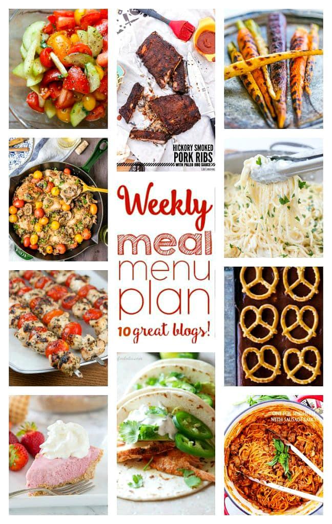 meal menu plan