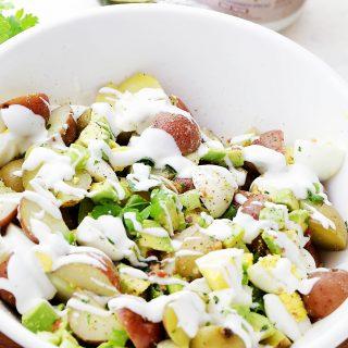 Lightened-Up Creamy Potato Salad Recipe