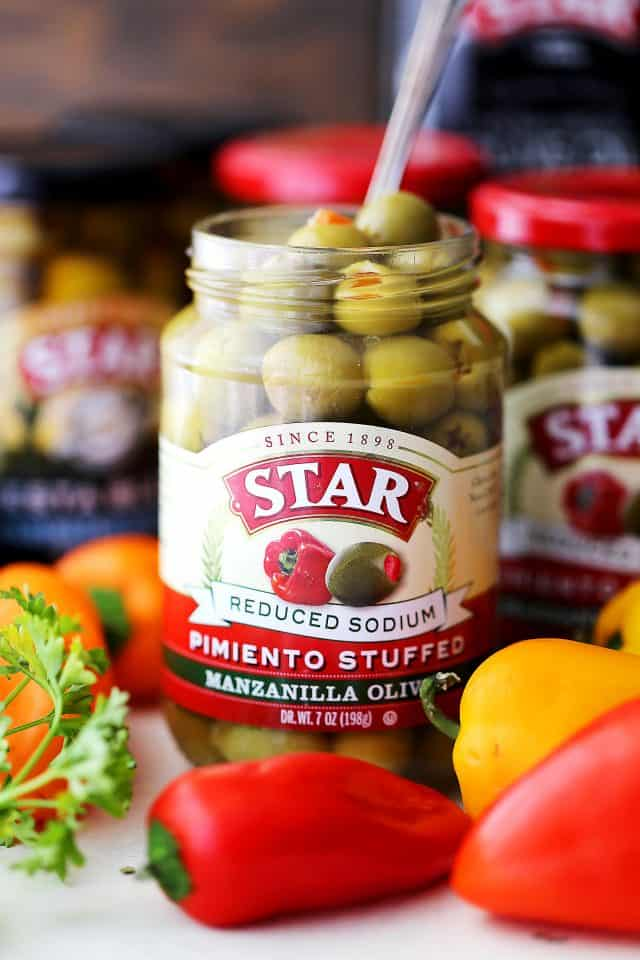 STAR Reduced Sodium Manzanilla Olives