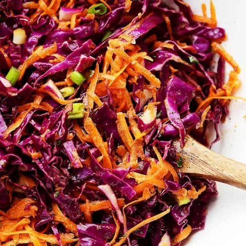 Red Cabbage And Carrot Slaw Recipe Diethood