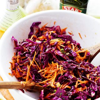 Red Cabbage and Carrot Slaw Recipe