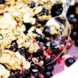 Crock Pot Blueberry Crisp
