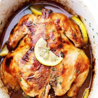 Crock Pot Honey Lemon Chicken Recipe