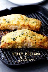 Honey Mustard Salmon Recipe | Easy Salmon Recipes + Dinner Ideas