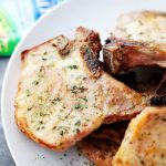 Ranch Pork Chops Recipe - Made with just a few simple ingredients, this quick and easy recipe will become your new favorite pork chops dinner!