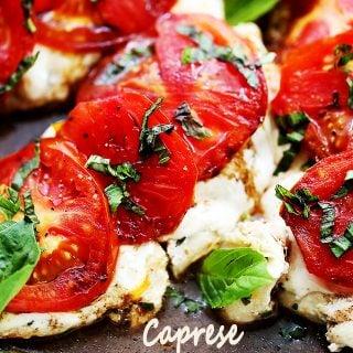 Caprese Skillet Chicken Recipe