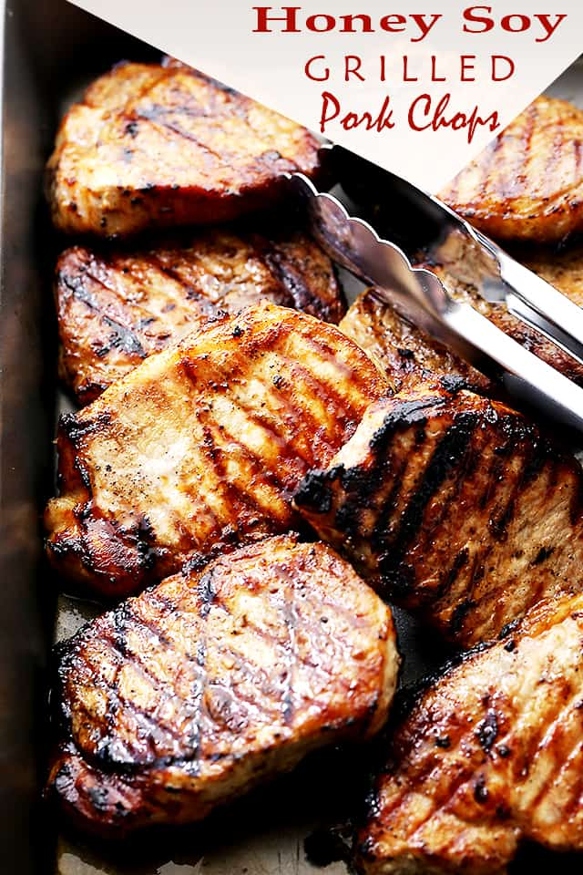 Honey Soy Grilled Pork Chops Easy Grilled Pork Chops Recipe