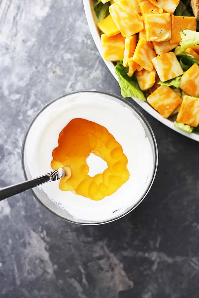 Honey-Yogurt-Salad-Dressing