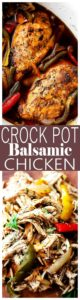 Crock Pot Balsamic Chicken Recipe | Weeknight Crock Pot Chicken Dinner