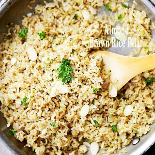 Almond Brown Rice Pilaf