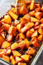 ... Mashed Potatoes + Thanksgiving Day Menu Honey Roasted Butternut Squash