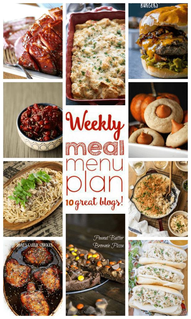 Week 68 Meal Plan collage